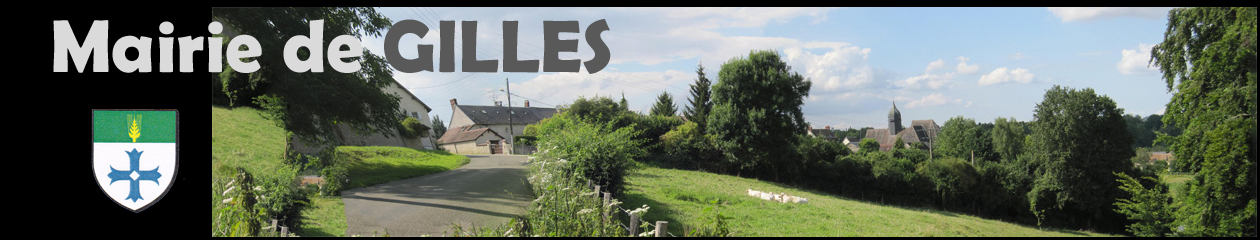 Site de la commune de Gilles (28260)